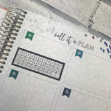 Monthly tracker for Erin Condren, bullet journal (DPD1337)
