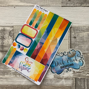 (0026) Passion Planner Daily stickers - Stay at Home