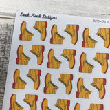 Walking boot stickers (DPD717)