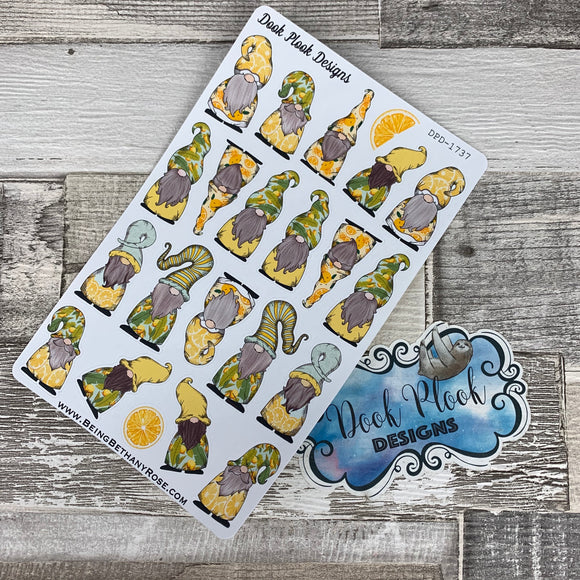 Lemon Gonk Character Stickers Mixed (DPD-1737)
