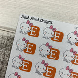 Octopus Character Etsy shopping stickers (DPD 1369)