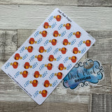 Watering can / Gardening stickers  (DPD141)