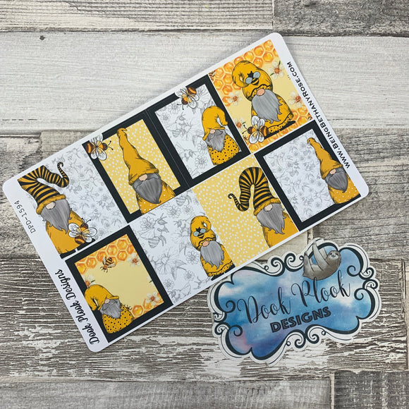 Bee Gonk full box stickers for Erin Condren(DPD1594)