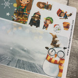 Erin Condren Month Note Pages (Christmas Wizard)