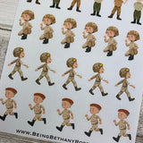 Soldier / Army Stickers (DPD986)
