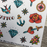 Tattoo stickers (DPD293)