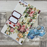 (0144) Passion Planner Daily stickers - Leopard Watercolour