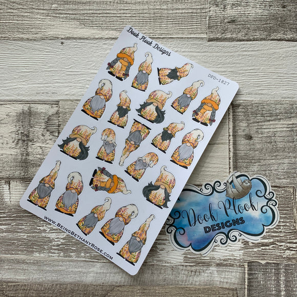 Autumn Gonk Character Stickers (DPD-1827)