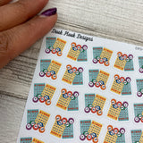 Bingo stickers (DPD1058)