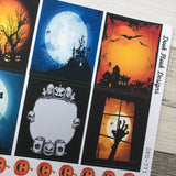 Halloween box stickers (DPD771)