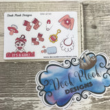 Its A Girl stickers (Small Sampler Size) A749