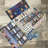 Galaxy Monthly View Kit (can change month) for the Erin Condren Planners