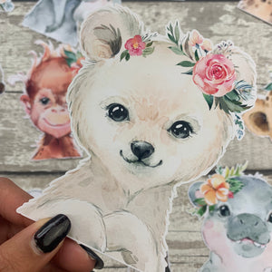 Polar Bear Die cut