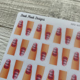 Get nails done / Manicure stickers (DPD445)