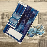 (0008) Passion Planner Daily stickers - Galaxy