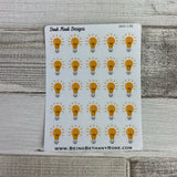 Light bulb stickers (DPD198)