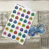 Happy Mail / envelope / sticker delivery stickers (DPD1244)