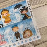 Spoon Full of Sugar (full) boxes for Erin Condren vertical  (DPD1380)