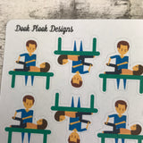 Physio stickers (DPD540)