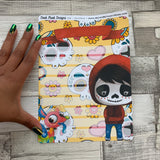 Erin Condren Month Note Pages (Day of the Dead)