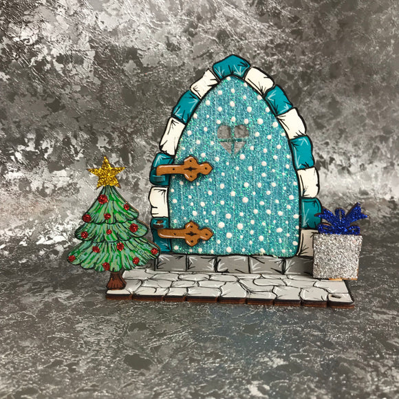 Freestanding Christmas Fairy / Elf Door