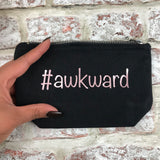 #awkward rose gold - Tampon, pad, sanitary bag / Period Pouch
