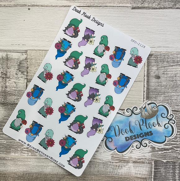 I'll bring you flowers Gonk Character Stickers Mixed (DPD-2128)