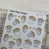 Angel Christmas stickers (DPD1160)