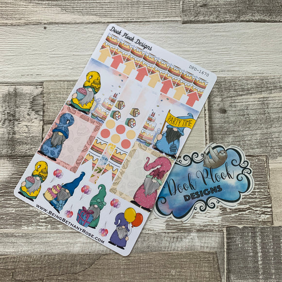 Party Gonk functional stickers  (DPD1670)