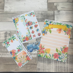 Erin Condren Month Note Pages (Spring Flowers)