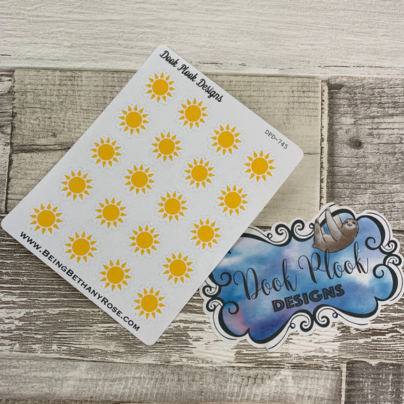 Sunshine stickers (DPD745)