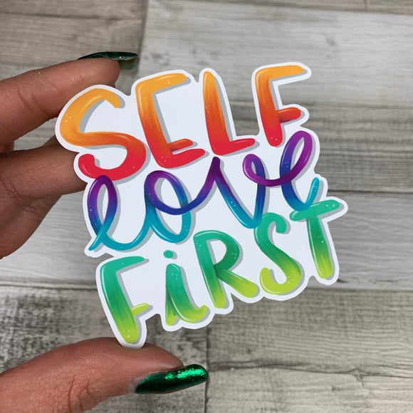 Self love first diecut