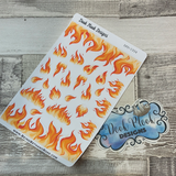 Fire flame stickers (DPD1934)