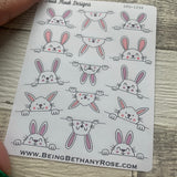 Easter bunny  / Rabbit stickers (DPD1294)