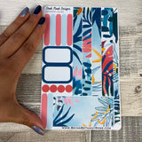 (0140) Passion Planner Daily stickers - Bold Print