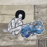 Self Love Die cut (Girl with curls)