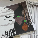 Witch Scary Night Passion Planner Week Kit (DPD1831)