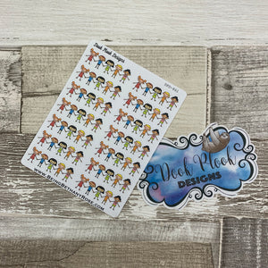 Children / friends / playdate stickers (DPD861)