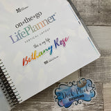 Personalised name stickers for planners (Matte, Gloss or Foil, 28 different colours) 0002-Wild