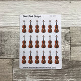 Violin stickers (DPD229)