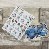 Snowman stickers  (DPD789)