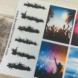 Party / Ibiza / Rave stickers (DPD342)