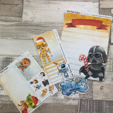 Erin Condren Month Dashboard Note Pages (Force Xmas)