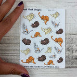 Cat stickers  (DPD725)