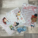Erin Condren Month Dashboard Note Pages (Disneybound)