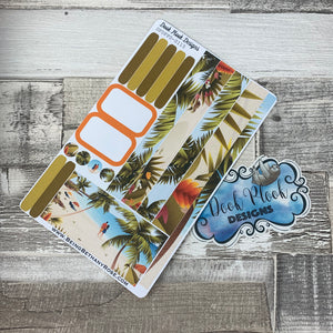 (0115) Passion Planner Daily stickers - Postcard Perfect 1