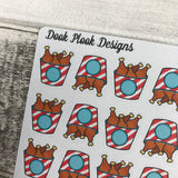 Chicken bucket stickers (DPD1195)