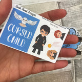 Cursed Child stickers (Small Sampler Size) A746
