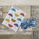 Cute umbrella stickers  (DPD1063)