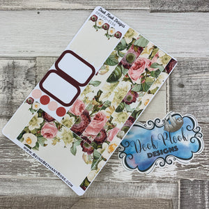 (0156) Passion Planner Daily stickers - Watercolour